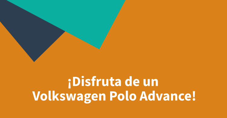 ¡Disfruta de un Volkswagen Polo Advance!